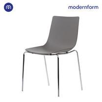 Modernform เก้าอี้อเนกประสงค์ เก้าอี้สัมมนา เก้าอี้ประชุม รุ่นCT390 ขาเหล็ก สีเทา