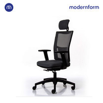 Modernform เก้าอี้สำนักงาน รุ่น HYDRA พนักพิงสูง ฟังก์ชั่นสุดคุ้ม หุ้มด้วยผ้าตาข่ายทึบ สีดำ