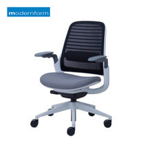 Modernform เก้าอี้สำนักงาน รุ่น SERIE 1 พนักพิงกลาง - สีเทา