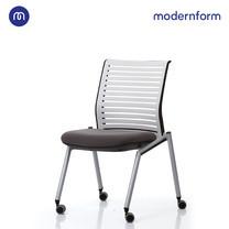 Modernform เก้าอี้เอนกประสงค์ เก้าอี้ประชุม เก้าอี้สัมมนา รุ่น Tec (03) พนักพิงกลาง สีเทา
