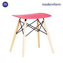 Modernform เก้าอี้อเนกประสงค์ เก้าอี้สัมมนา PW027 สีเเดง