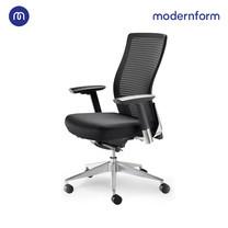 Modernform เก้าอี้สำนักงาน รุ่น Series15 เบาะสีดำ พนักพิงหุ้มด้วยตาข่าย สีดำ