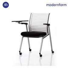 Modernform เก้าอี้ LECTURE  เก้าอี้มหาลัย โรงเรียน สีดำ  + แผ่นรองเขียนสีดำ รุ่น Tec (01)