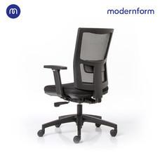 Modernform เก้าอี้สำนักงาน  รุ่น HYDRA  พนักพิงกลาง หุ้มผ้าตาข่าย สีดำ