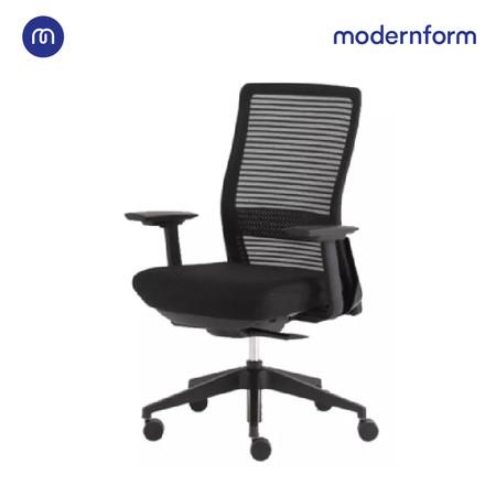 Modernform เก้าอี้สำนักงาน รุ่น Series15S แขนปรับไม่ได้ พนักพิงกลางแบบตาข่าย