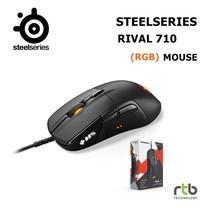 SteelSeries เมาส์เกมมิ่ง RGB รุ่น Rival 710 - Black
