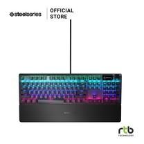 SteelSeries คีบอร์ดเกมมิ่ง RGB รุ่น Apex 5 (Hybrid Blue Switch)