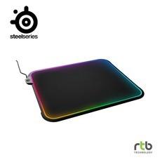 SteelSeries แผ่นรองเมาส์ เกมมิ่ง RGB รุ่น QCK Prism Gaming Mouse Pad