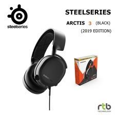 SteelSeries หูฟังเกมมิ่ง รุ่น Arctis 3 (2019 Edition) Gaming Headset - Black