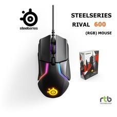 SteelSeries เมาส์เกมมิ่ง RGB รุ่น Rival 600 - Black