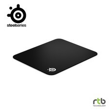 SteelSeries แผ่นรองเมาส์เกมมิ่ง รุ่น QcK Edge Cloth Gaming Mouse Pad - M Size