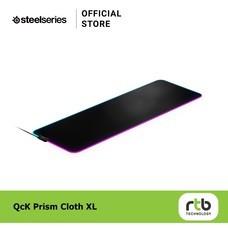 SteelSeries แผ่นรองเมาส์ เกมมิ่ง RGB รุ่น QcK Prism Cloth XL