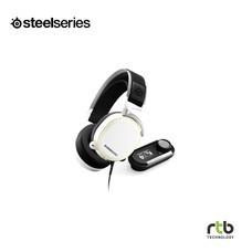 SteelSeries หูฟังเกมมิ่ง 7.1 DTS รุ่น Arctis Pro + GameDac RGB -  ฺWhite