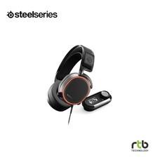 SteelSeries หูฟังเกมมิ่ง 7.1 DTS รุ่น Arctis Pro + GameDac RGB -  ฺBlack