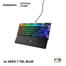 คีย์บอร์ด SteelSeries Apex 7 TKL RGB Mechanical Keyboard - (Blue Switches)