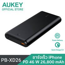 แบตเตอรี่สำรอง Aukey 26800mAh Power Delivery 3.0  PB-XD26