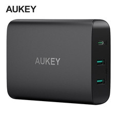 Aukey Adapter 72W USB-C PD 3.0 (60W) AiPower FC PA-Y12