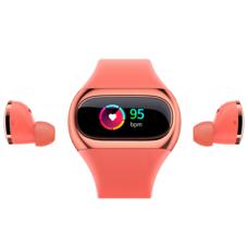 Wearbuds True Wireless Earbuds Fitness Tracker 2 in 1 Smart Watch สายรัดข้อมืออัจฉริยะ พร้อมหูฟัง เพื่อสุขภาพ AiPower