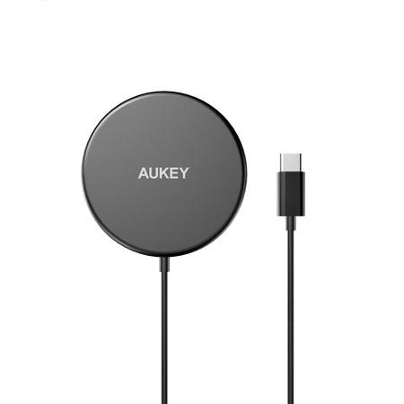 AUKEY แท่นชาร์จไร้สาย Aircore Wireless Charger 15W Magnetic Qi Certified รุ่น LC-A1