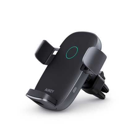 AUKEY ที่ยึดมือถือ Wireless Car Charger 10W Qi Fast Charging AutoClamping Car Phone Holder Compatible รุ่น HD-C52