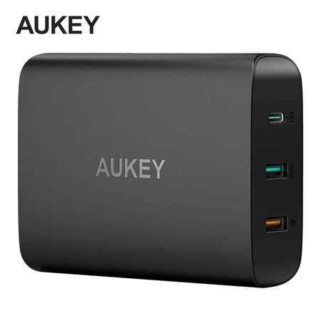 Aukey Adapter 74.5W all in 1 FC PD 3.0, QC 3.0,Ai PA-Y13