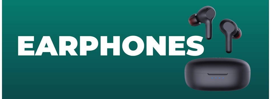 Earphones banner