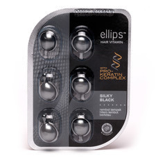 ellips Hair Vitamin Pro Keratin Silky Black 6 capsules