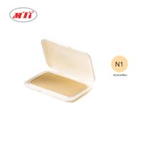 MTI FEEL PERFECT แป้งผสมรองพื้น รีฟิล #N1 ผิวขาวเหลือง