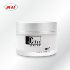MTI ACTIVE WITHE โคลด์ครีม - ครีมนวดหน้าและทำความสะอาดผิว
