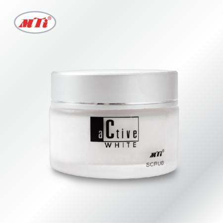 MTI ACTIVE WHITE สครับขัดผิวหน้า 50 g