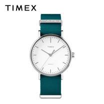 Timex นาฬิกาข้อมือผู้หญิง TM-TW2R49000 สายผ้าไนล่อน สีเขียว