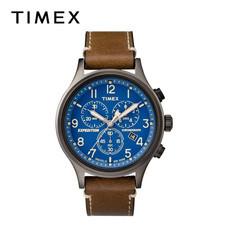 Timex นาฬิกาข้อมือผู้ชาย TM-TW4B09000 สายหนัง สีน้ำตาล