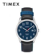Timex นาฬิกาข้อมือผู้ชายและผู้หญิง TM-TW2R62400 สายหนัง สีดำ