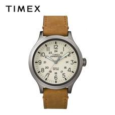 Timex นาฬิกาข้อมือผู้ชาย TM-TW4B06500 สายหนัง สีน้ำตาล