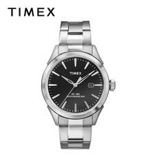 Timex นาฬิกาข้อมือผู้ชาย TM-TW2P77300 สายสเตนเลส สีเงิน
