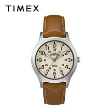 Timex นาฬิกาข้อมือผู้ชายและผู้หญิง TM-TW4B11000 สายหนัง สีน้ำตาล