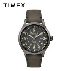 Timex นาฬิกาข้อมือผู้ชาย TM-TW4B01700 สายหนัง สีน้ำตาล