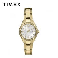 Timex นาฬิกาข้อมือผู้หญิง TM-TW2P80100 สายสเตนเลส สีทอง