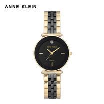 Anne Klein นาฬิกาข้อมือผู้หญิง AK-AK-3158BKGB สี Black, Gold
