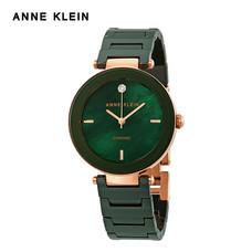 Anne Klein นาฬิกาข้อมือผู้หญิง AK-AK-1018RGGN สี Green