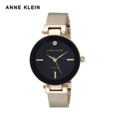 Anne Klein นาฬิกาข้อมือผู้หญิง AK-AK-2472BKGB