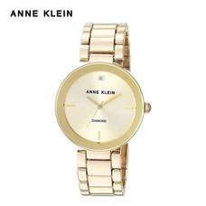 Anne Klein นาฬิกาข้อมือผู้หญิง AK-AK-1362CHGB สี Gold