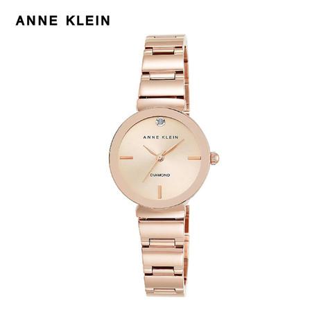 Anne Klein นาฬิกาข้อมือผู้หญิง AK-AK-2434RGRG สี Rose Gold