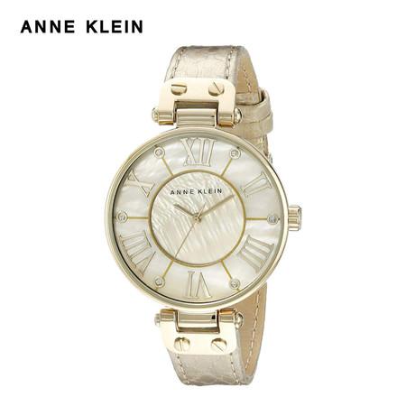 Anne Klein นาฬิกาข้อมือผู้หญิง AK-AK-1012GMGD สี Gold