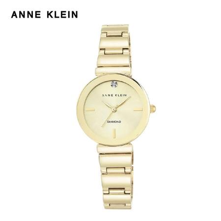 Anne Klein นาฬิกาข้อมือผู้หญิง AK-AK-2434CHGB สี Gold