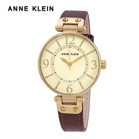 Anne Klein นาฬิกาข้อมือผู้หญิง AK-10-9168IVBN สี Brown