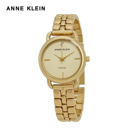 Anne Klein นาฬิกาข้อมือผู้หญิง AK-AK-2794CHGB สี Gold