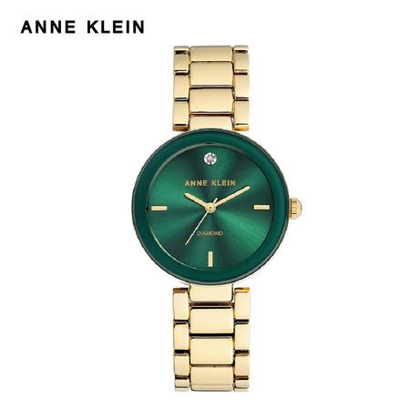 Anne Klein นาฬิกาข้อมือผู้หญิง AK-AK-1362GNGB สี Gold, Green