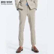 era-won กางเกงสแลค รุ่น MONOTONE ทรง Super Skinny - สีเบจ MR-Beige