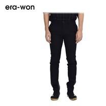 era-won กางเกงสแล็คขายาว รุ่น CITY LIGHT WRIGHT ทรง Super Skinny - สีดำ City Black